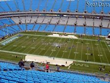 Carolina Panthers vs. Pittsburgh Steelers pre-season (5th row, 35 yard line)