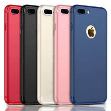 Luxury Ultra Thin Slim Silicone TPU Soft Case Cover For Apple iPhone 7 &6 7 Plus
