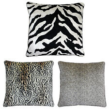 Animal print Africa Cushion Covers/ Filled Cushions feather inner Floor cushions