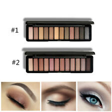 Beauty 12 Colors Eye Shadow Makeup Cosmetic Shimmer Matte Eyeshadow Palette
