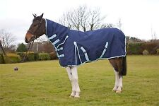 protack turnout rug combo 1200D navy equine horse rugs all sizes