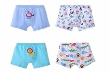 Boys' Boxer Briefs Cute Short Underwear Comfort Seamless Boxers 4 Pack