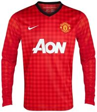 NIKE MANCHESTER UNITED LONG SLEEVE HOME JERSEY 2012/13.
