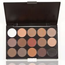 NEW PRO 15 COLORS MAKEUP NEUTRAL NUDES WARM EYESHADOW PALETTE DURABLE AT