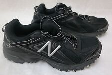 New Mens New Balance 411 Trail Running Shoes Style mt411bs2 Black/Silver 61T