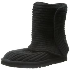 Ugg Women Boots Classic Cardy Boots Black