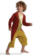 Boys Official Licensed Bilbo Baggins Hobbit Book Day Fancy Dress Costume Outfit