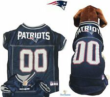 NFL Pet Fan Gear NEW ENGLAND PATRIOTS Dog Jersey for Dogs XS-2XL XXL BIG SIZE