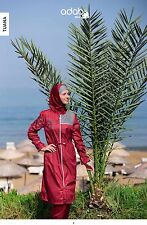 Adabkini Tuana, Full cover(Islamic) Swimsuit, 4-piece burkini w swim cap & cover