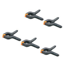 """MagiDeal 2''/ 4"""" Plastic Market Stall Clamps Strong Spring Grip Clip Clamp"""