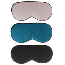 Useful Comfort Silk Sleeping Aid Eye Mask Cover Shade Travel Relax Blindfold
