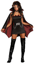 NEW Fang Bangin Fun Vamp Adult Costume Fancy Dress Australian Seller,