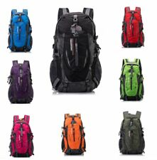 40L Mens Outdoor Cycling Backpack Camping Daypack Shoulder Bag Hiking Rucksack