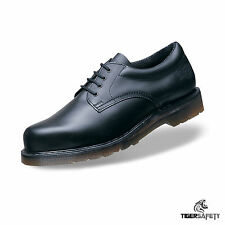 Dr Martens DM Docs Icon 2215 Black Steel Toe Cap Heavy Duty Work Safety Shoes