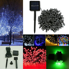 DIY Solar LED String Fairy Lights FOR Christmas Party Wedding Garden Decoration