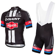 Giant 2017 Pro Team Replica Cycling Jersey and Bib Shorts Set, XXS to 4 XL