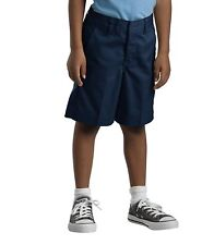 Dickies Boys/Girls Classic Fit Straight Leg Flat Front Uniform Short Size 4-20