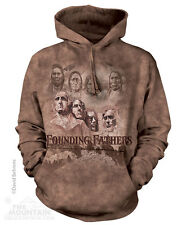 Indian Founding Fathers Native American Mountain Pullover Hoodie Sweatshirt