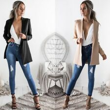 S-XL Women's Woolen Coat Casual Suit Business Blazer Temperament Jacket Outwear