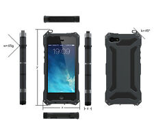 Waterproof Shockproof Aluminum Gorilla Glass Metal Case Cover For iPhone 5 5S SE