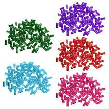 100pcs Hair Ring Braiding Clips Dreadlock Cuffs Clip Beads For Braiding Hair