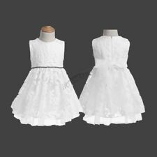 Princess Infant Baby Flower Girl Birthday Wedding Pageant Party Lace Tutu Dress