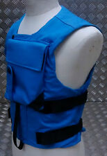 Genuine British Forces United Nations Body Armour Vest UN Blue - All Sizes - NEW