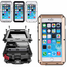 Waterproof Shockproof Aluminum Gorilla Metal Cover Case For iPhone 7 Plus 6S 5