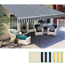 New Folding Awning 3 Colours & 3 Sizes Selectable Outdoor Garden Patio Sunshade✓