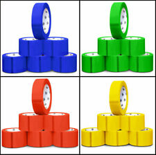 """3"""" x 55 Yards 2 Mil Multi-color Box Carton Sealing Packing Shipping Package Tape"""