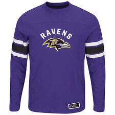 NFL Baltimore Ravens Mens Majestic Power Hit Long Sleeve Shirt jersey