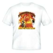 Fire Ems Police T-shirt Firefighters Dance Where The Devil Walks Fireman Man Men