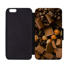 Wallet Phone Case Chocolate Truffles Bar Nuts Bakers Baking Sweet Desserts Print