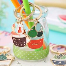 Succulent Plant Cactus Cute Key Chain Key Ring Handbag Pendant Key Holder