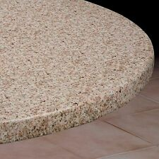 Vinyl Fitted Table Cover GRANITE Elasticized Square SM MED LG Round Oval Oblong