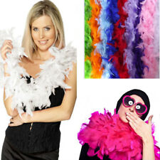 2M Feather Boa Strip Fluffy Costume Fancy Dress Holiday Party Wedding Decoration