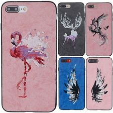 Ultra-Thin Luxury Embroidery Soft Case Easy Cover For Apple iPhone 6 6S 7 Plus