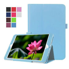 For Apple iPad Air 2 Stylish Glossy Leather Slim Stand Folio Case Book Cover