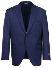 Jack Victor Gibson Regular Fit Super 110's Navy Pinstripe Suit