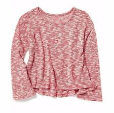 NWT Old Navy Girls Cropped Bell-Sleeve Sweater-Knit Top XS(5) S(6-7) M(8) Red