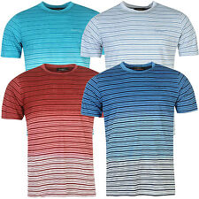 Pierre Cardin Mens 100% Cotton Short Sleeves C Stripe Dip Dye T Shirt -Small-2XL