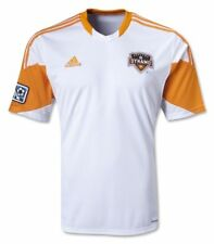 NWT Houston Dynamo Adidas Climacool MLS Soccer Away Jersey  M XL