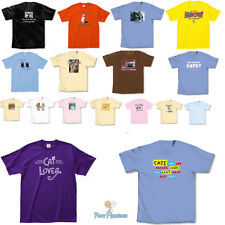 LA Imprints T-shirts Gift for Cats Lovers Cat Owners-HUMOR-FUNNY-25 VARIETIES