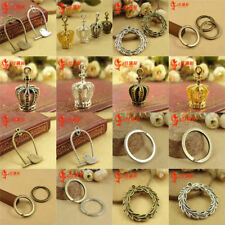 Wholesale 10pcs Alloy Chain Key Ring Parts Charms Great for Craft DIY Decor Nice