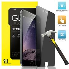 Premium Privacy Tempered Glass Film Screen Protector For iPhone 7 6 Plus 4S 5 SE