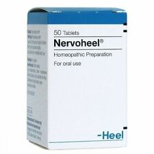 Nervoheel N Homeopathy Anxiety Disorder, Stress relief,Insomnia 50 tab Heel USA