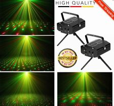 Mini LED R&G Stage Lighting Laser Projector Lights Party DJ Disco Show X'mas BG