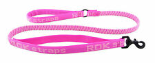 Rok Straps Ultimate 3 in 1 Stretch Dog Lead Leash - PINK CAMO