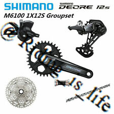 SHIMANO XT M8000 1x11 Speed Mountain Bike Groupset 6 Pcs 32T/175MM 11-42T/11-46T