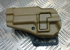 Genuine British Military / Police / Security Blackhawk Serpa Sig Desert Holster